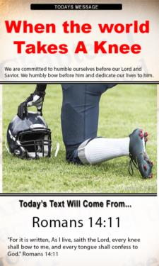9790 - When the world takes a knee
