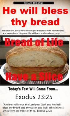 9711 - He will bless thy bread