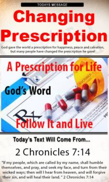 9708 - The danger of changing your prescription