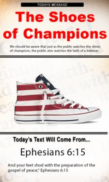 9692 - Shoes of Champions