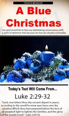 9805 - A Blue Christmas