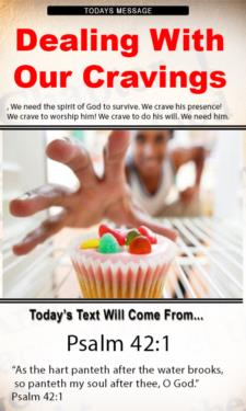 9781 - Dealing with our cravings