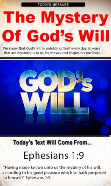 9820 - The Mystery of God