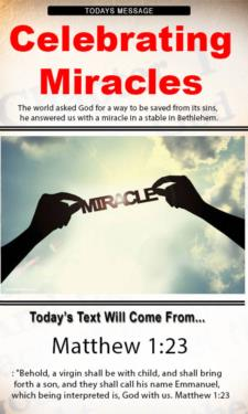 9803 - Celebrating Miracles