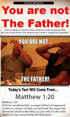 10051 - You are not the father