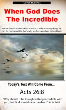 9788 - When God Does The Incredible