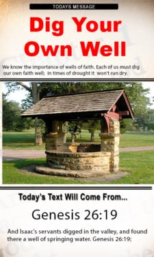 9783 - Dig your own well
