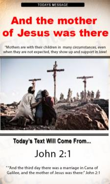 9683 - And the mother of Jesus was there