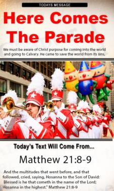 9821 - Here comes the parade