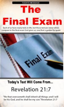 9712 - The Final Exam