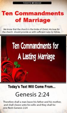 9789 - Ten Commandments of Marriage